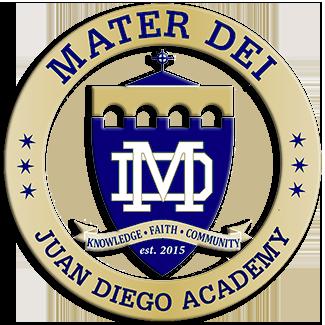 Mater Dei Juan Diego Academy Online Store Logo